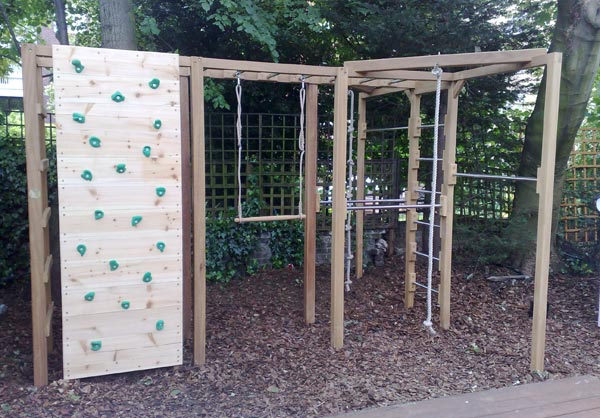 Backyard Gymnastics Bars : diy bars climbing climbing wall backyard climbing diy backyard gym